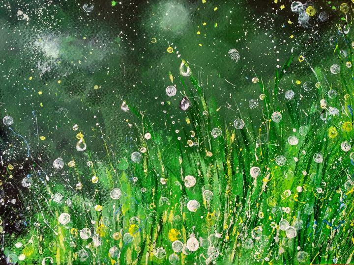 Dew on Grass - Anirban kar