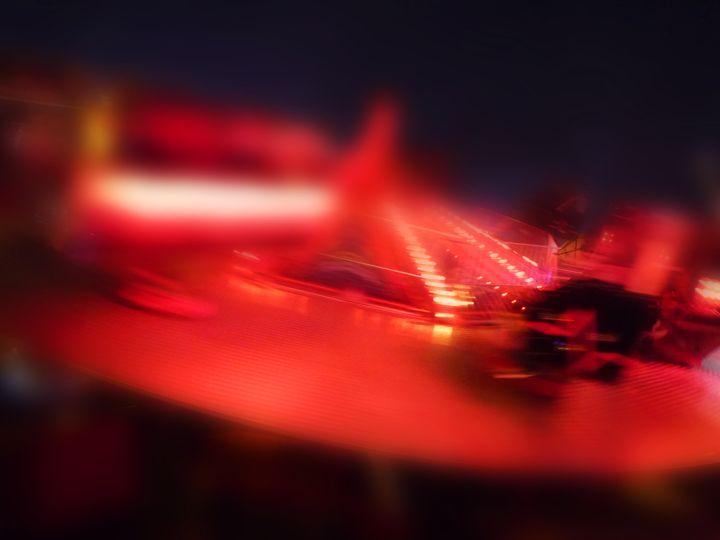Spinning Red - charles stuart