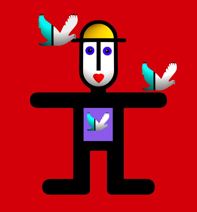 Bird Man - charles stuart
