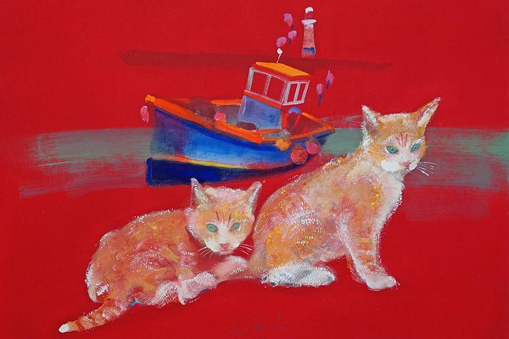 St Ives Kittens - charles stuart
