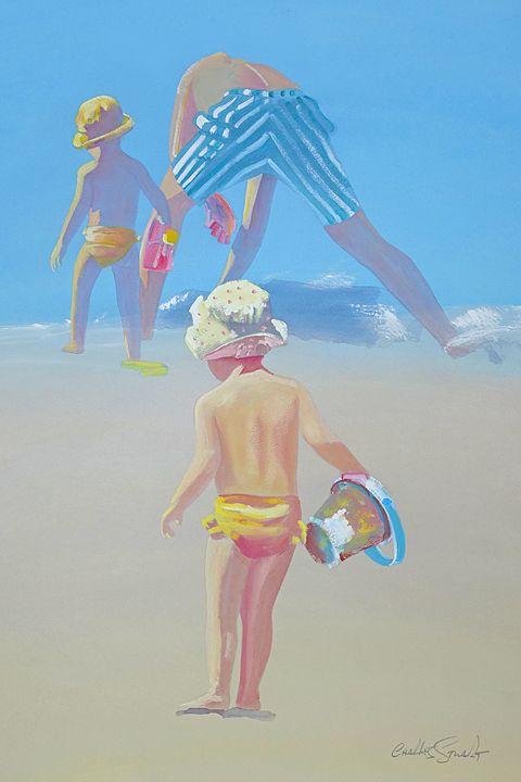 Beach Fun - charles stuart