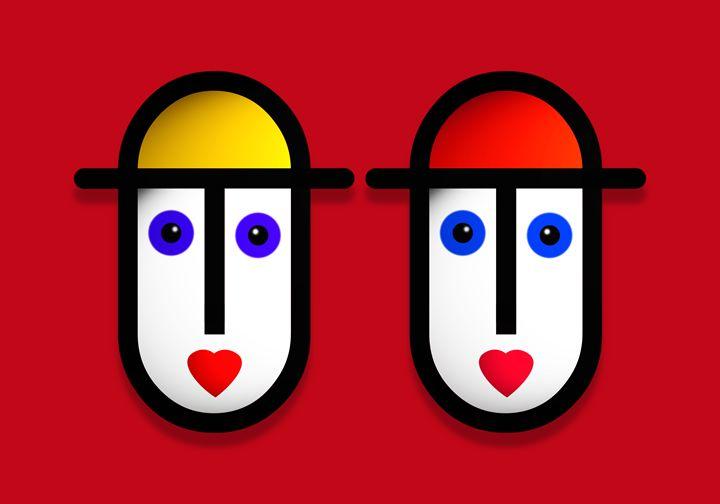 Love Red - charles stuart