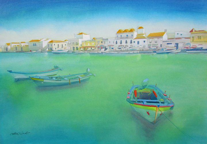 Tho Old Port Tavira - charles stuart