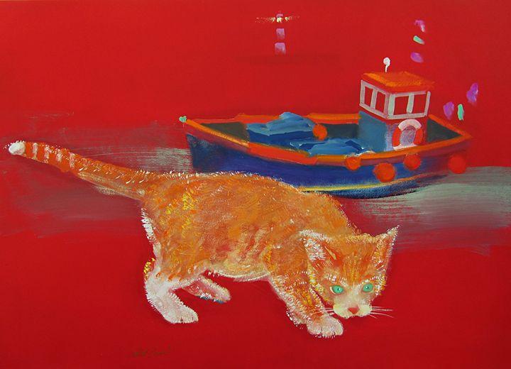 Ginger Kitten - charles stuart
