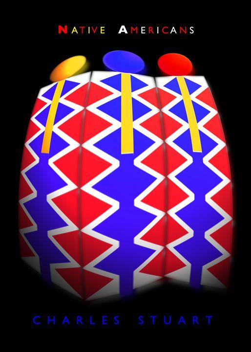 Native American Pattern - charles stuart