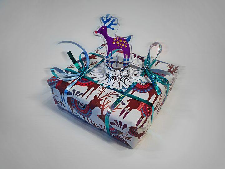 Reindeer Gift - charles stuart