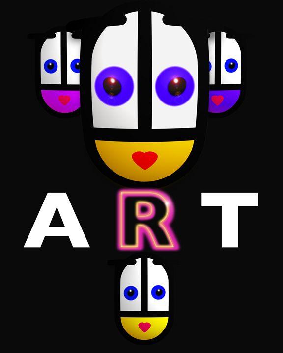 Art Babe Poster - charles stuart