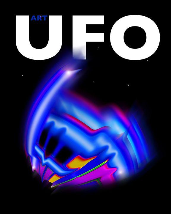 UFO Poster - charles stuart