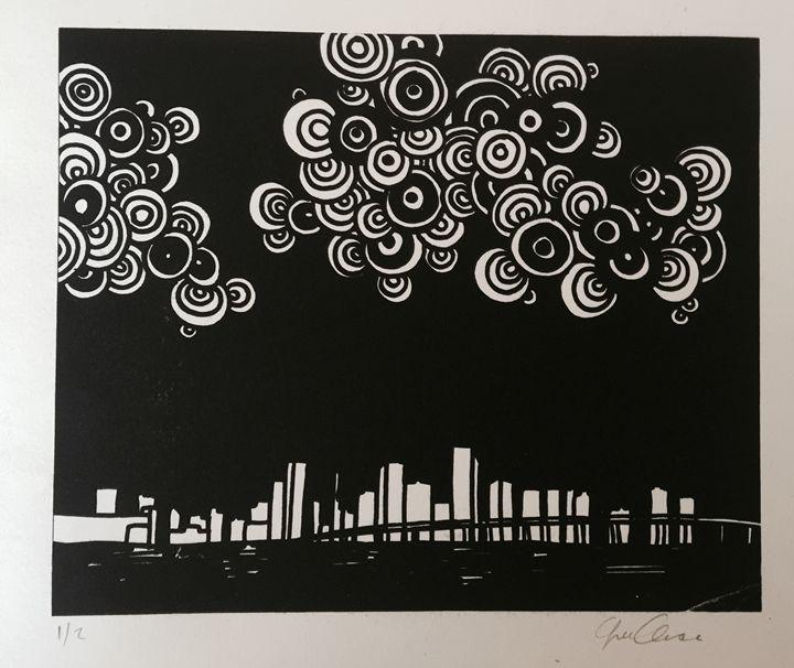 Miami Sky - GiselleAscunce