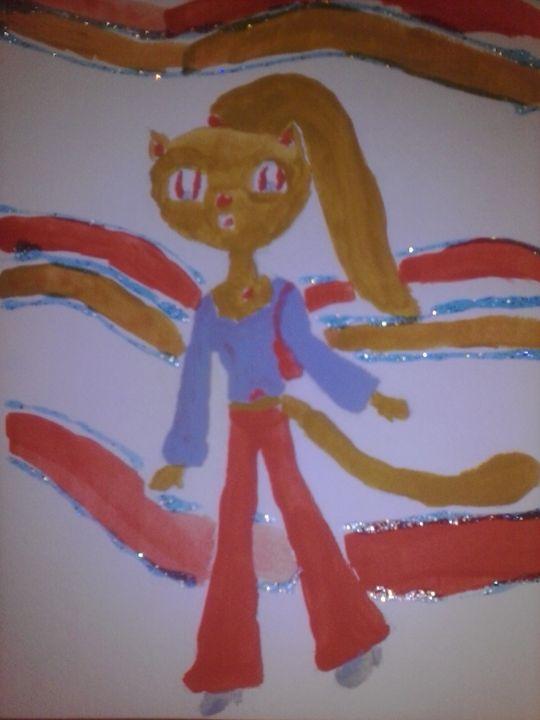 teen hip kitty - Erica's Art