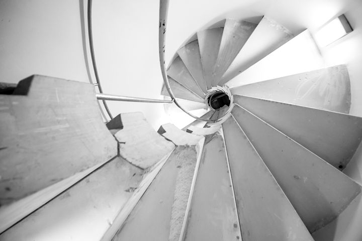 Spiral Stairs - Man On A Roof Productions