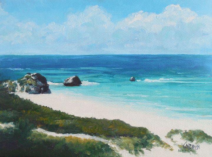 Bermuda Scene - Carmen Beecher