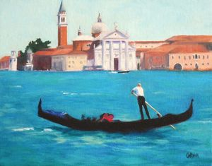 The Gondolier - Carmen Beecher