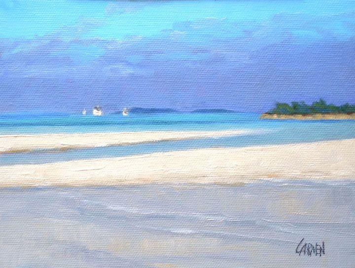 Tahiti Beach - Carmen Beecher