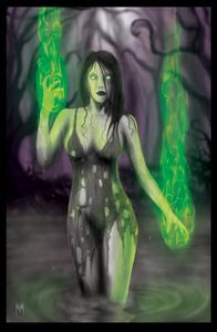The Sluice Witch (11'' x 17'' print)
