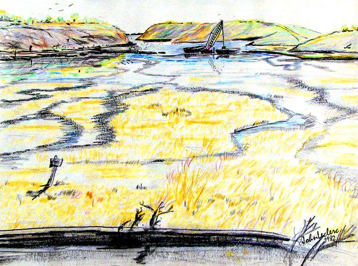 Upper Newport Bay 3 - ArtbyLeclerc