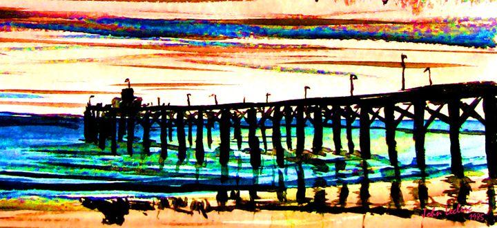 Newport Pier - ArtbyLeclerc