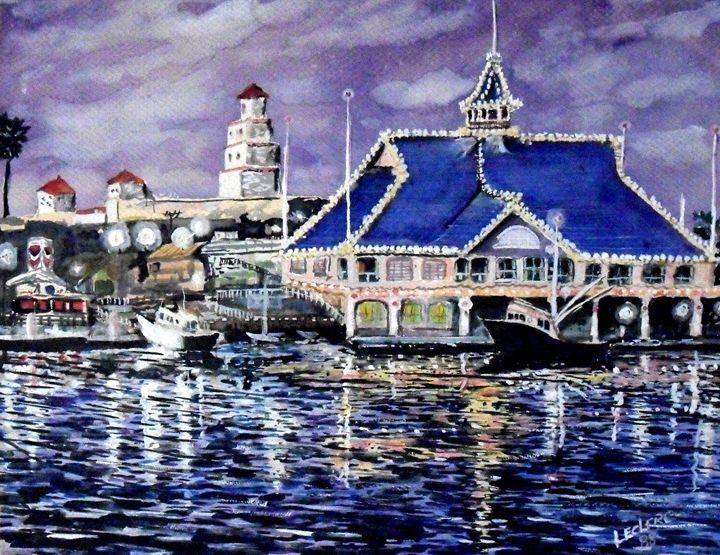 Pavilion Newport Beach Artbyleclerc