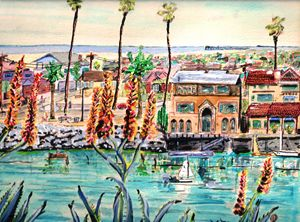Newport Harbor CA.