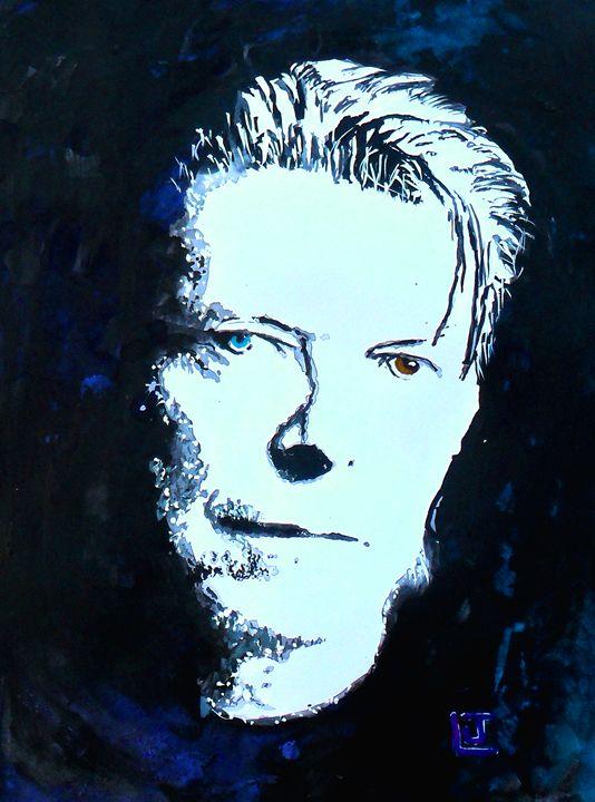 David Bowie Fan Art - ArtbyLeclerc