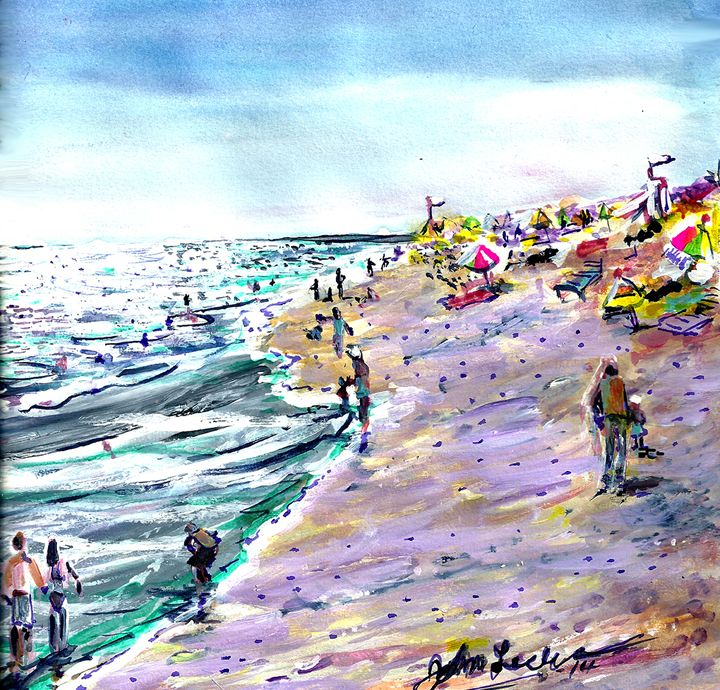 Quite Day at the Wedge - ArtbyLeclerc