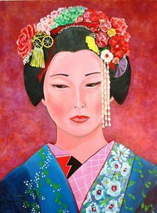 Elegant Geisha - de ricca
