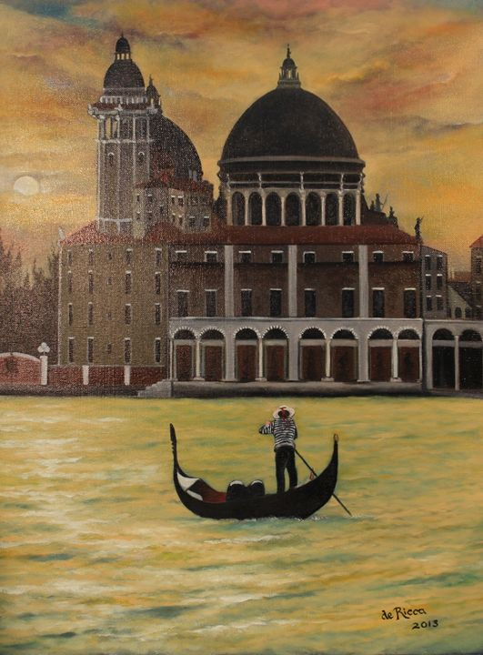 GOLDEN DAWN OVER VENICE - de ricca