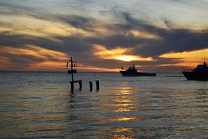 Sundown in Cervantes,