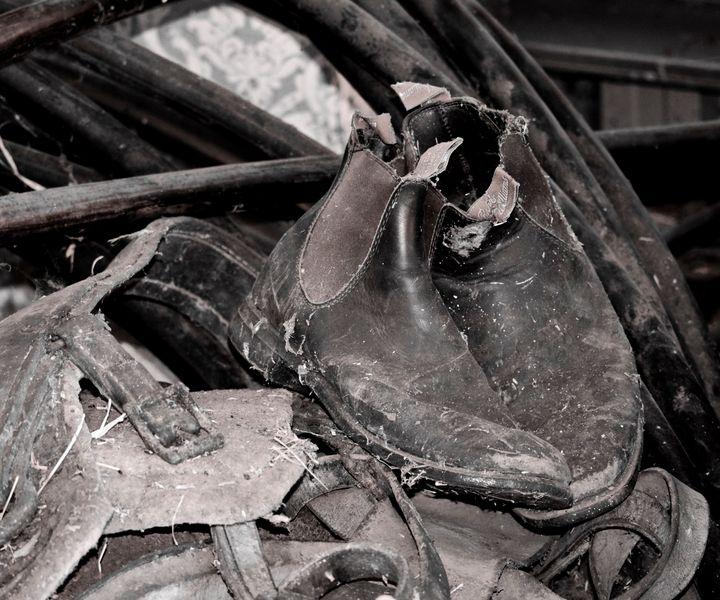abandoned Boots - Adbetron