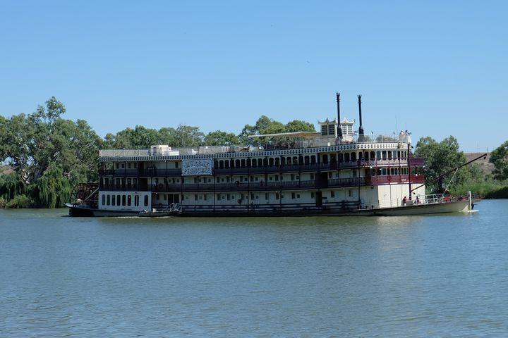 The Murray Princess Paddle Steamer - Adbetron