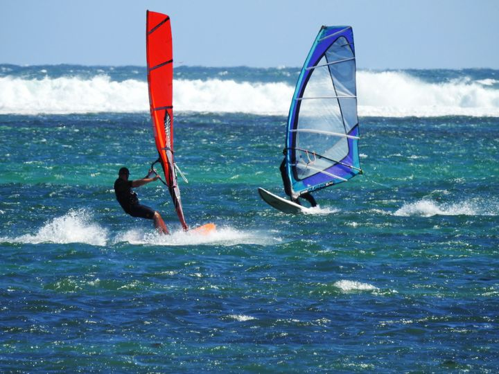 Sail Boarding in Lancelin - Adbetron