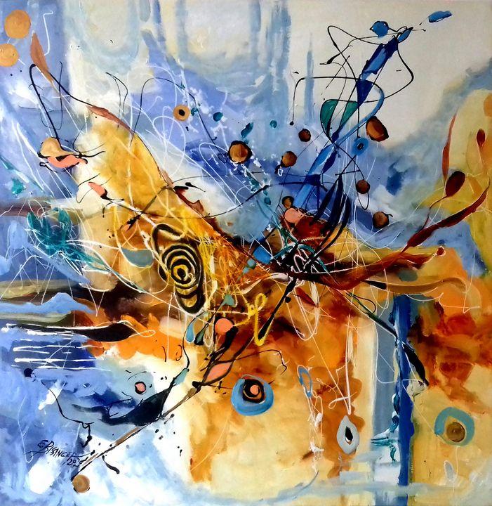 The bed of heaven, art Bissinger - Art Bissinger