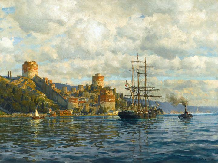 Rumelihisarı Ottoman Castle - OttomanArchives