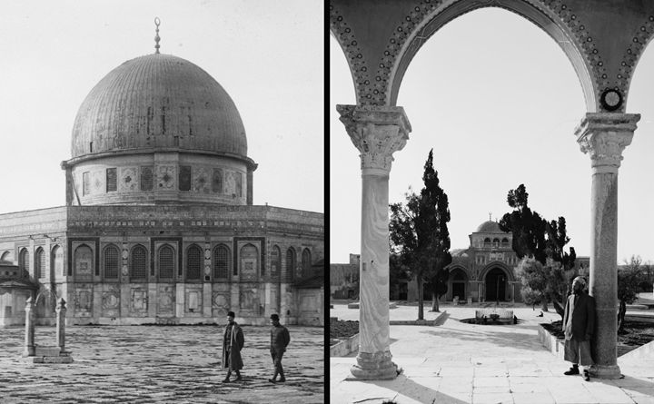 Masjid al-Aqsa and Qubbat al-Sakhra - OttomanArchives