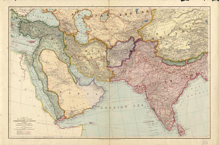 1912 Istanbul-Burma map - OttomanArchives