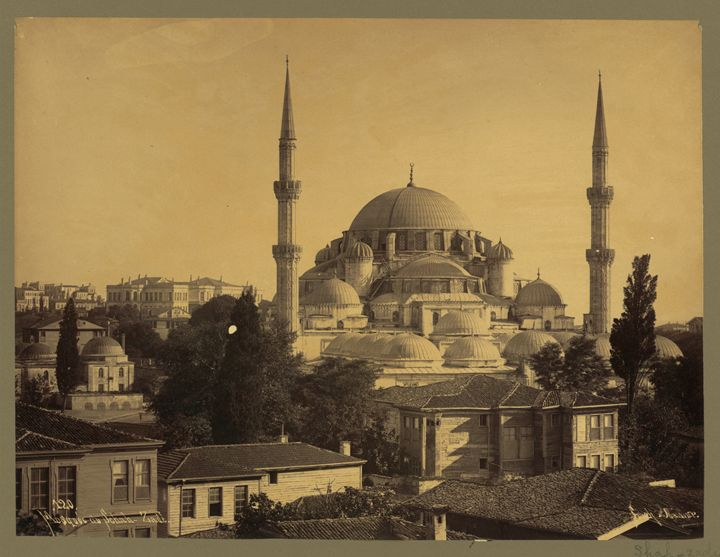 Șehzade mosque, Istanbul, 1890's - OttomanArchives