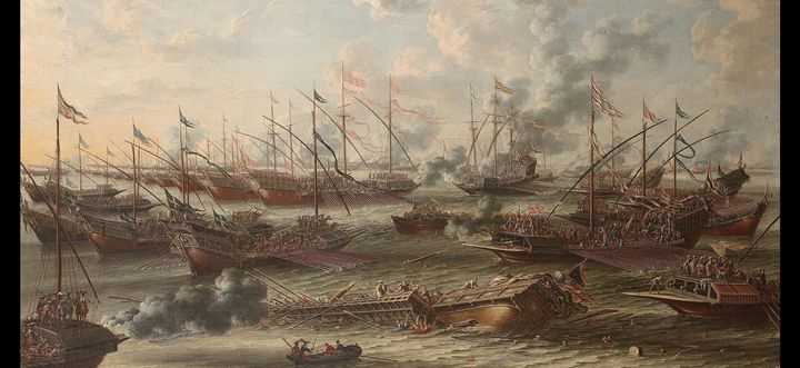 The Battle of Lepanto, 1571. - OttomanArchives