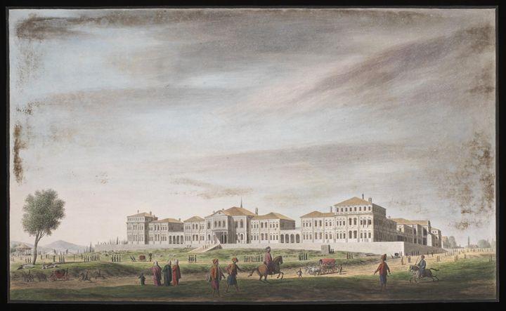 Ottoman Istanbul, 1809. - OttomanArchives