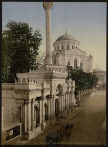 Pertevniyal Sultana mosque, 1890.