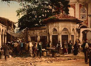 Ottoman Istanbul, 1890's.