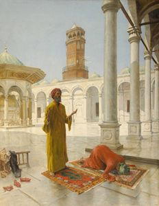 Prayer in Ottoman Egypt, 1902.