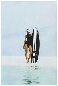 Coco Chanel Print, Fashion print