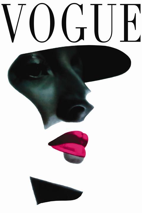 Vogue Art Print ,Fashion Print - PDFDecor