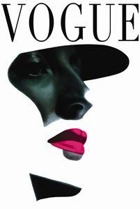Vogue Art Print ,Fashion Print