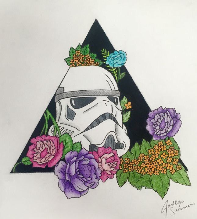 Floral Star Wars - OfMyMindCo
