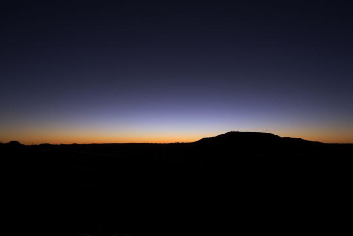 Mountain Silhouette - Motor City Photo