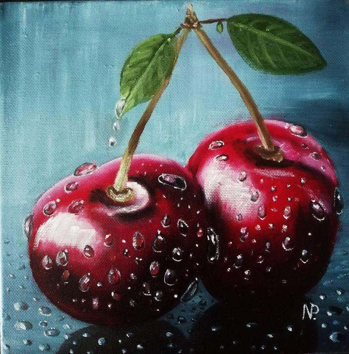 Cherry twins - ArtPlakhotnyk