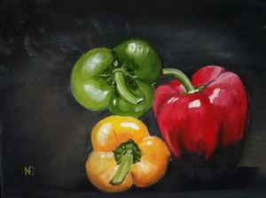 Trio of peppers