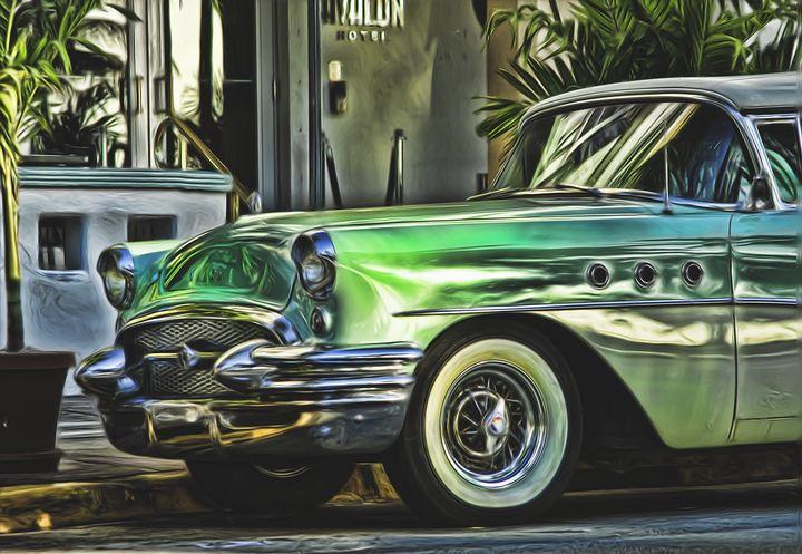 Green Buick - Lou Novick