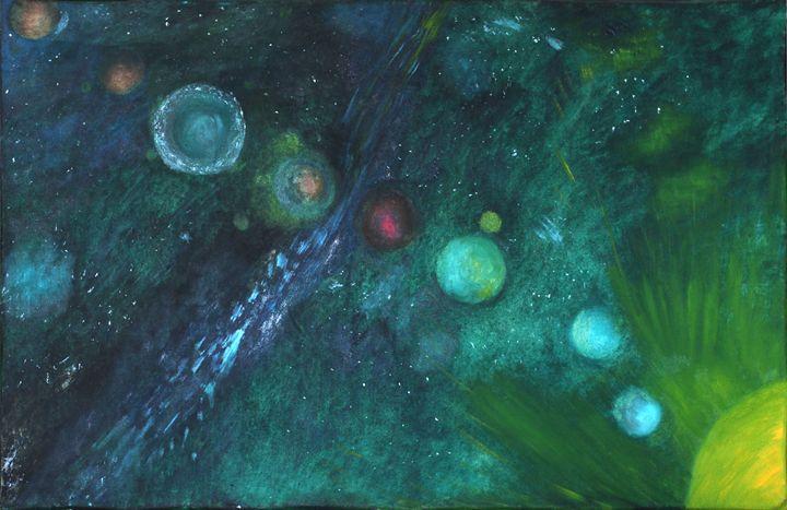 Planet parade - DMG art